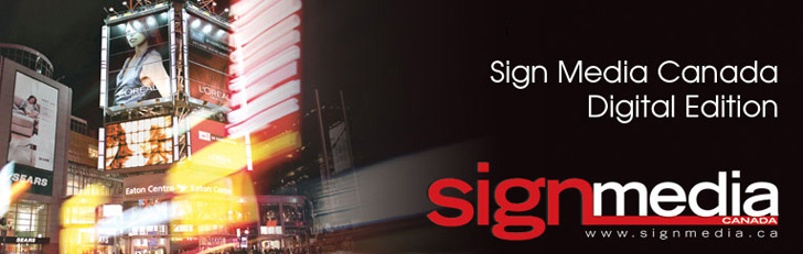 Enter Sign Media Canada's Digital Edition
