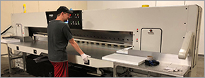 E&T Plastics uses new cutter for substrate sheets