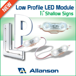 Allanson's New Low Profile LED Module