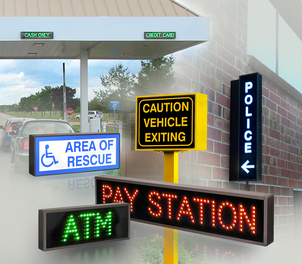 Compact LED Signs With Any Custom Message
