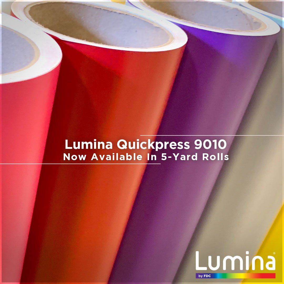 Lumina® By FDC - QuickPress 9010 Series Heat Transfer Vinyl Film