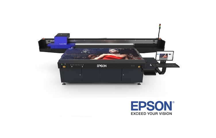 Introducing the Epson® SureColor® V7000 UV Flatbed Printer