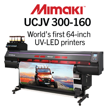 Mimaki UCJV300-160 UV-LED Printer / Cutter