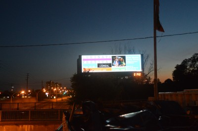 Toronto's sign bylaw includes controls for the brightness of digital billboards.