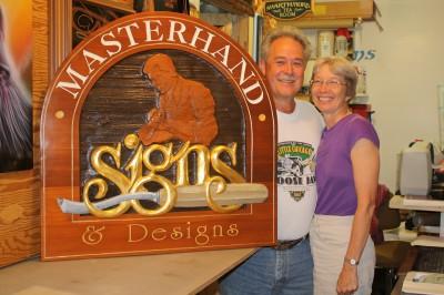 Photos courtesy Masterhand Signs & Designs