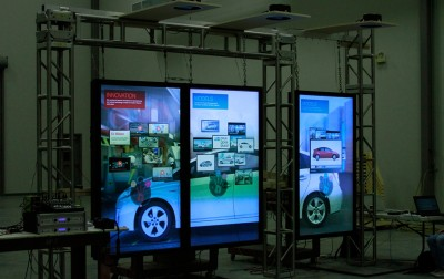 A lot of planning is required to create an effective interactive video wall.