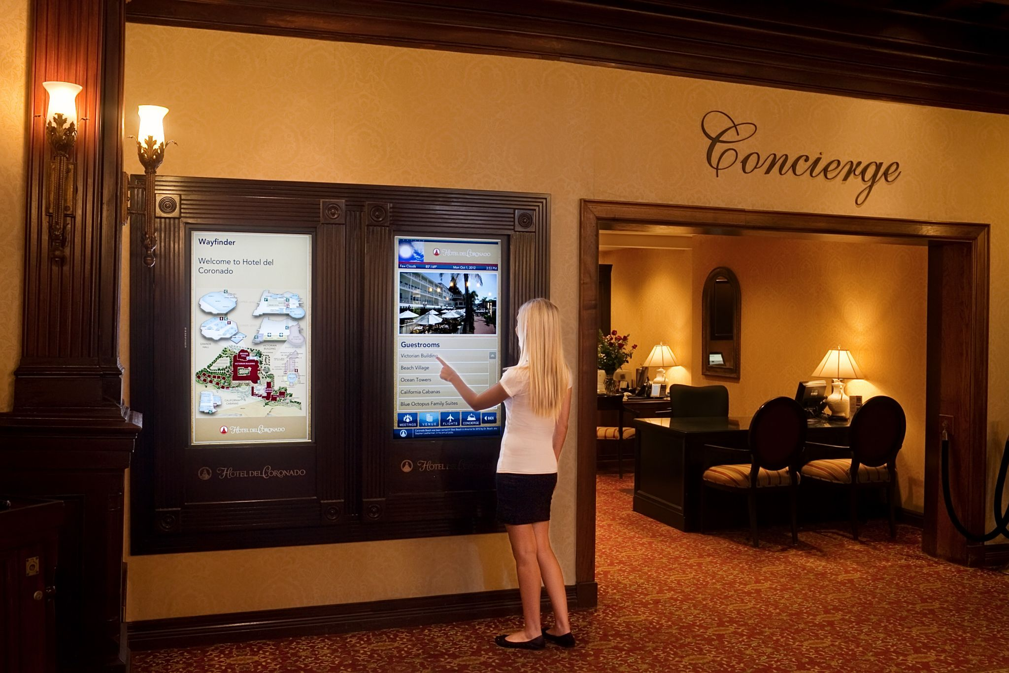 Digital Signage Advances In Interactive Wayfinding