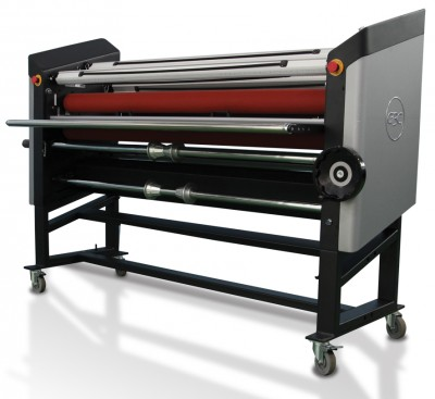 Heat-assist laminators work a lot like cold laminators, but add heat along the top roller to enhance the appearance of cold laminates.