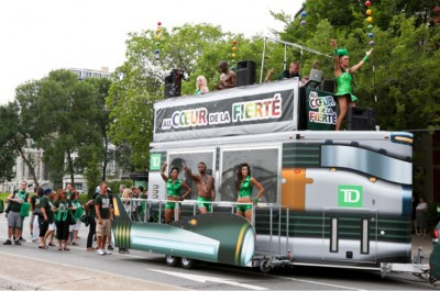 The project went on to win the Pride Parade's Corporate Float of the Year award.
