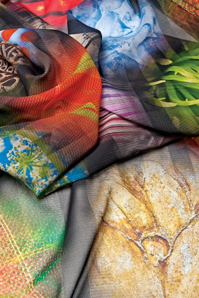 Fabrics are widely perceived as more upscale and sophisticated than paper or vinyl substrates.
