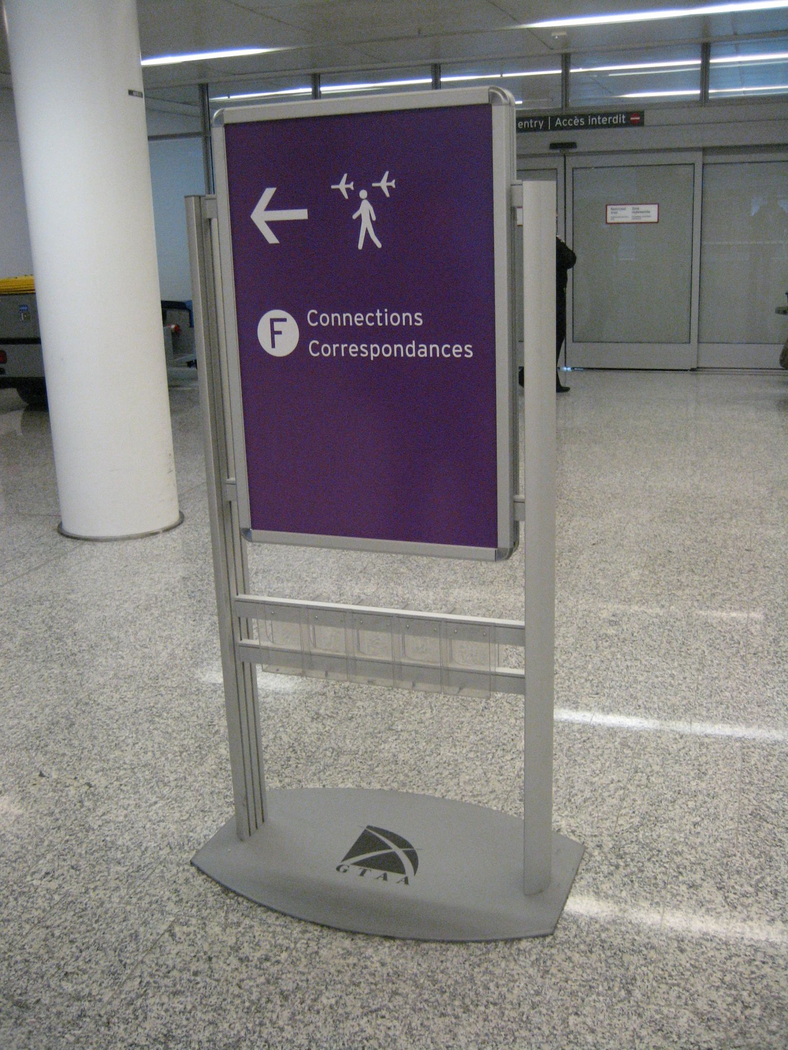 Rezoning Pearson Airport Sign Media
