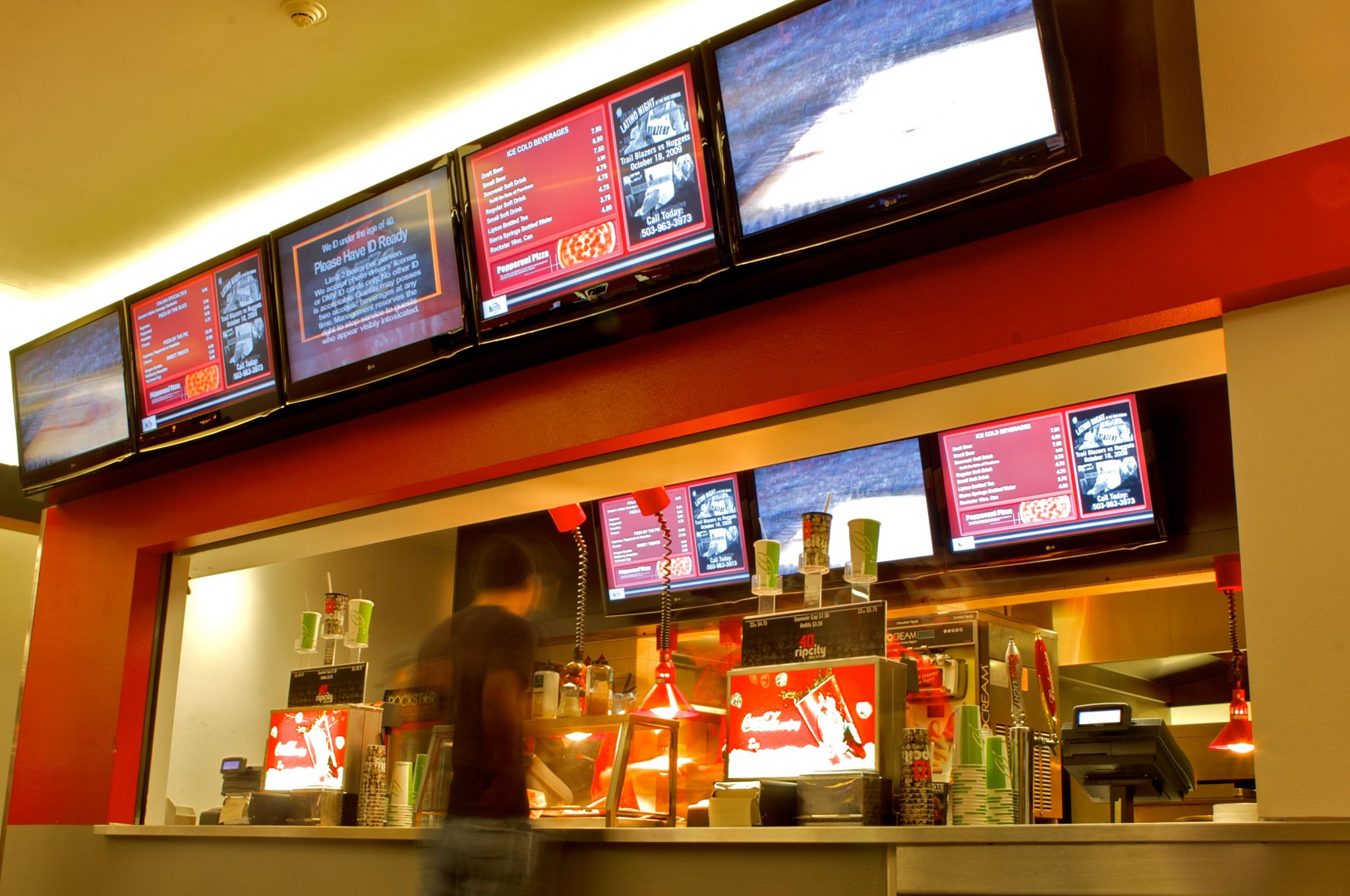 Portland Trail Blazers Arena >> Digital Signage: Doing more with menu boards - Sign Media