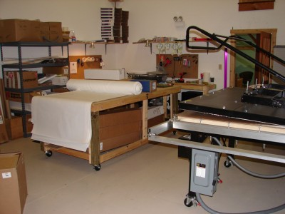There are many components to assemble when a sign shop enters the dye sublimation market. Photo courtesy Syd Northup