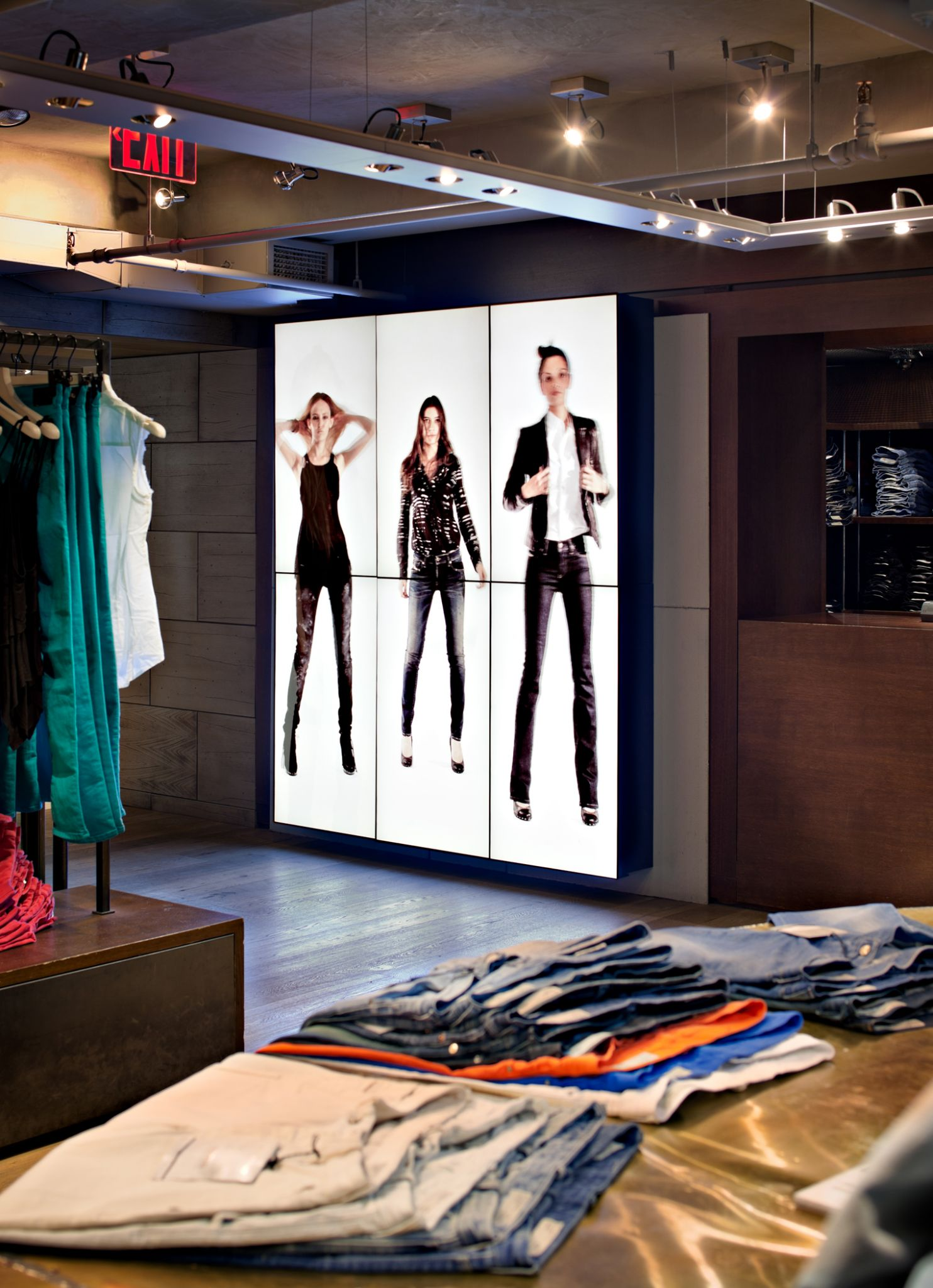 Virtual clothing store