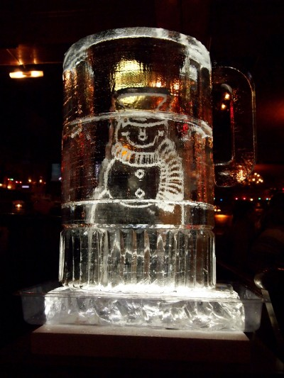 Peter Fogarty has produced ice sculptures for weddings, corporate functions, baby showers, holidays and many other events.