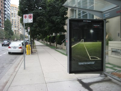 Vancouver's existing street furniture was enhanced with durable aluminum extrusions and connectors. Photos courtesy CBS Outdoor Canada