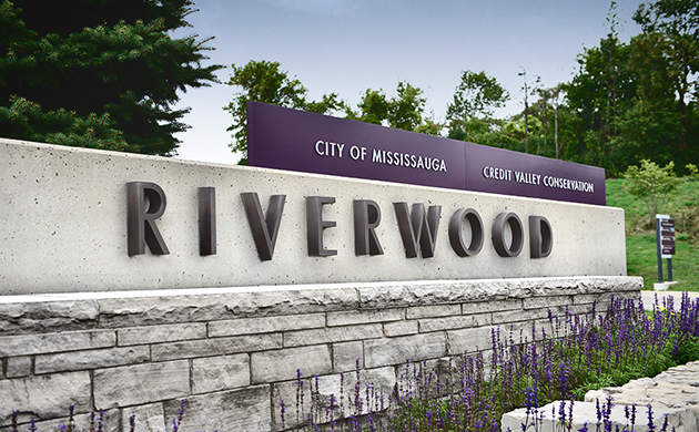Mississauga s riverwood conservancy refreshes sign system for Architecture firms mississauga