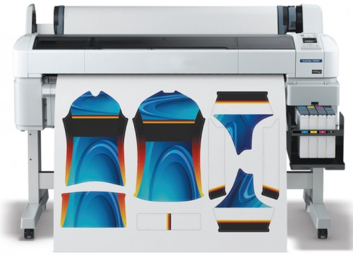 In today's wide-format graphics industry, dye sublimation is often handled through digital inkjet printers. Photo courtesy Epson