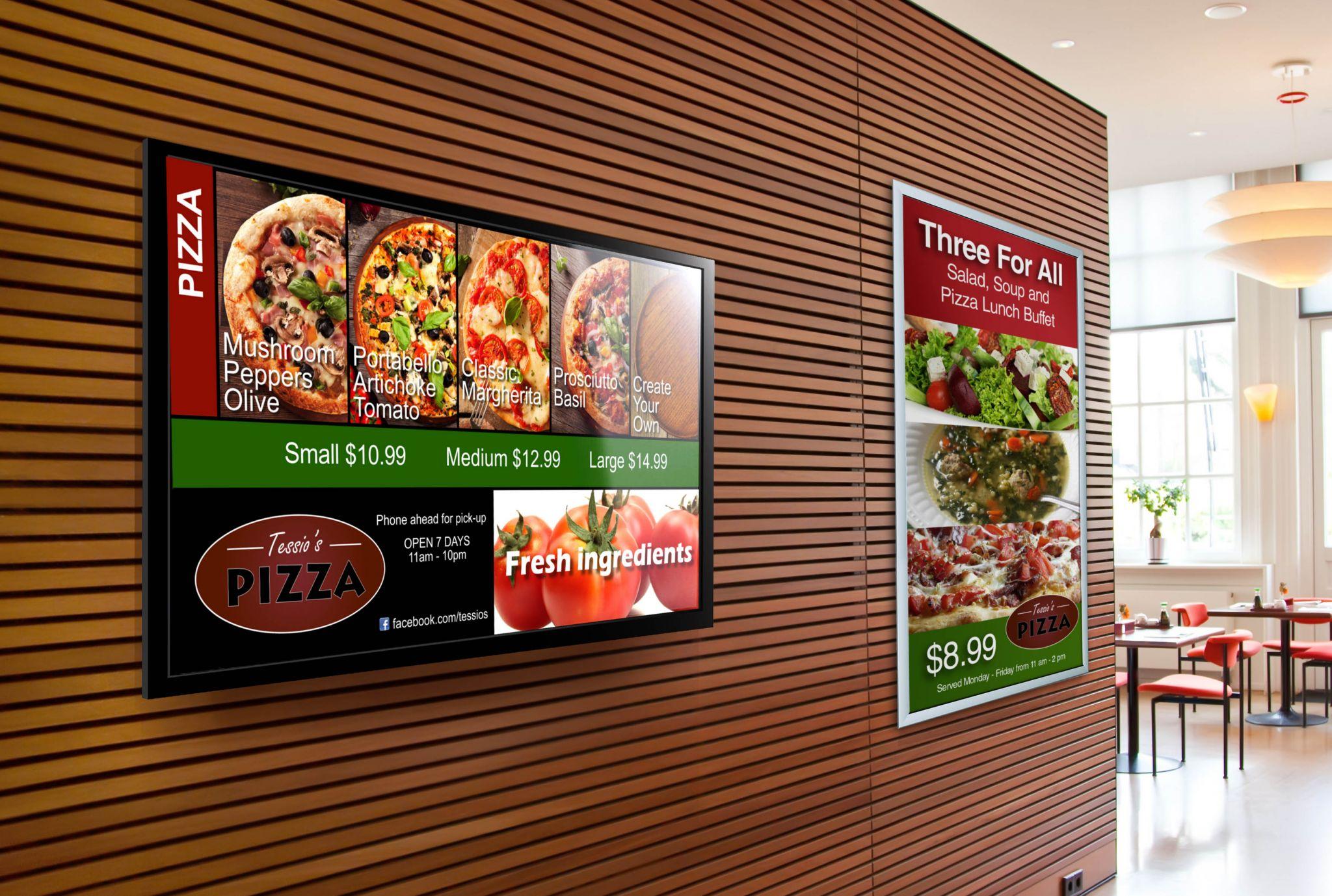 Restaurant Menu Board Signs