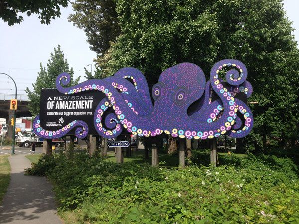 Vancouver Aquarium Sign Wins Creative Award Sign Media