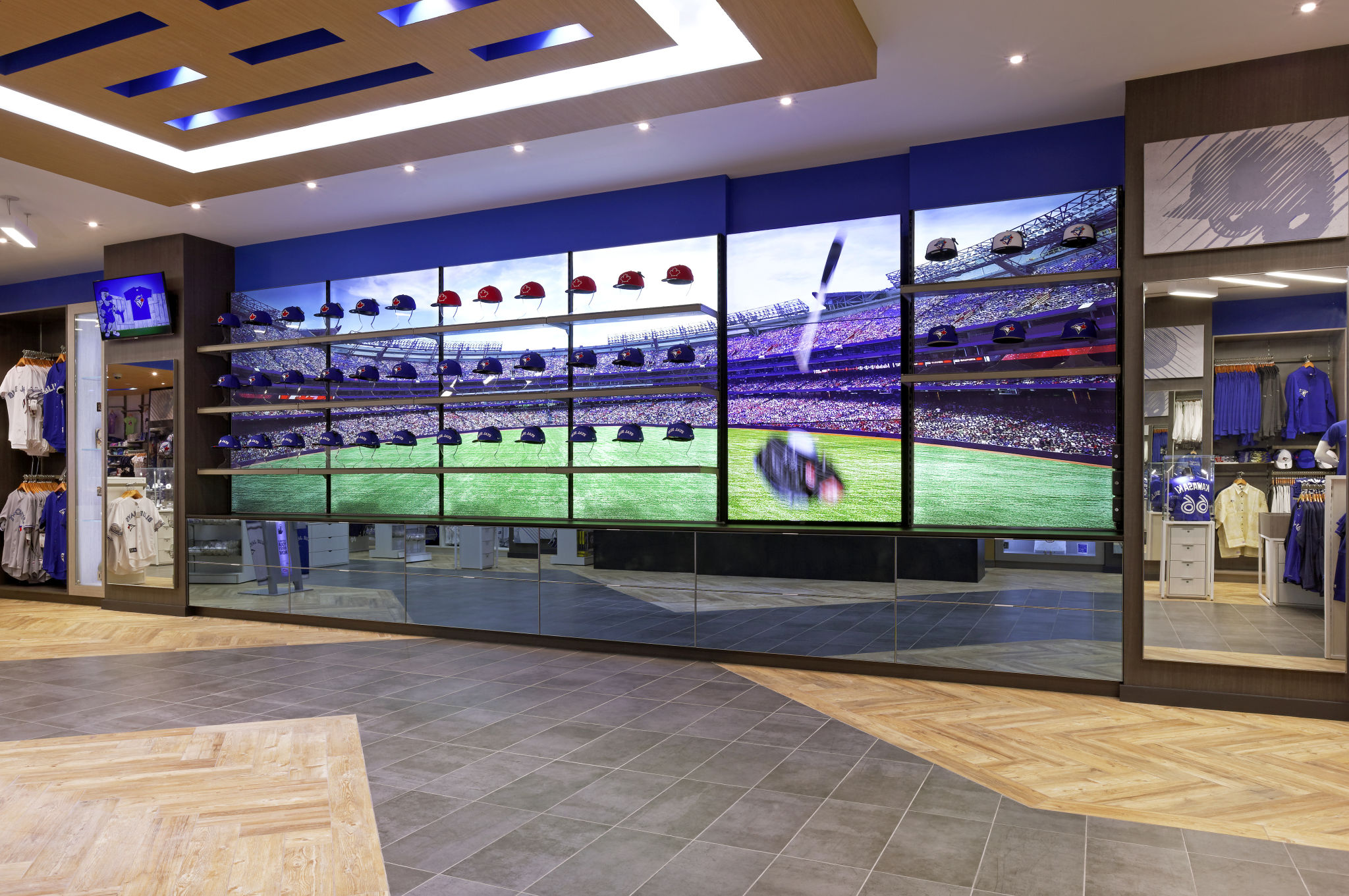 Retail design goes digital for latest jays shop sign media for Retail store design software