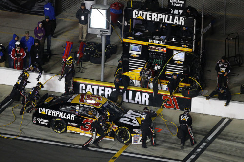 February 19, 2015:   Ryan Newman during the Budweiser Duel at the at the Daytona International Speedway in Daytona Beach, FL  .  (HHP/Tom Copeland)
