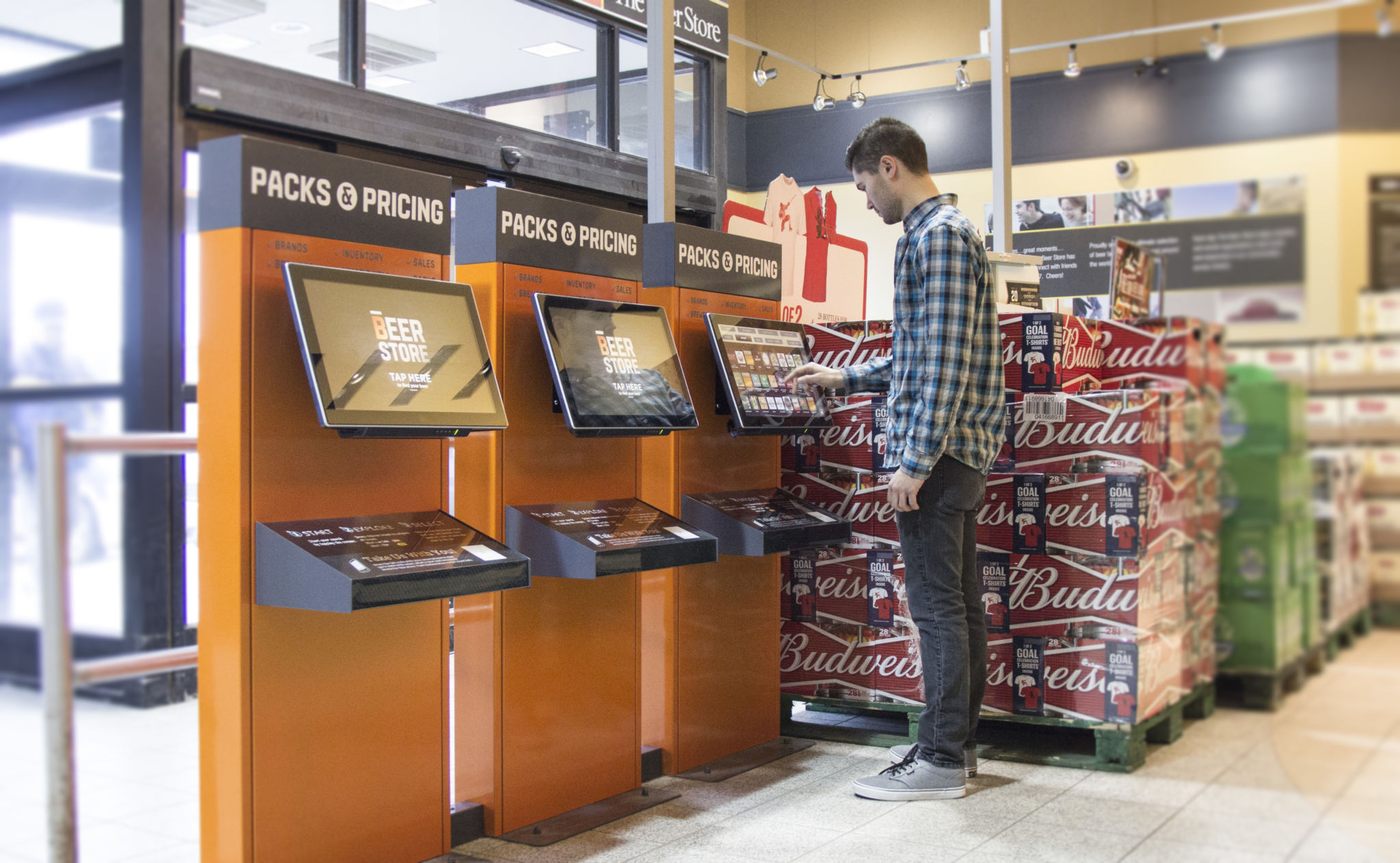 Beer Store replaces static displays with interactive ...