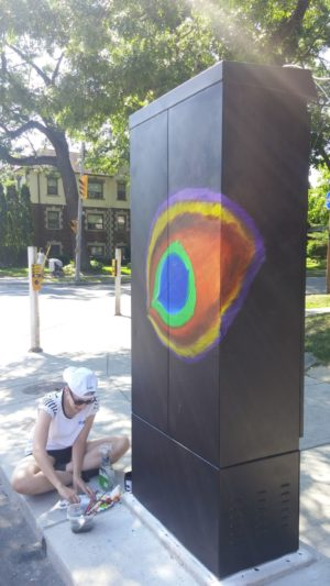 Toronto Traffic Signal Boxes Beautified To Deter Graffiti