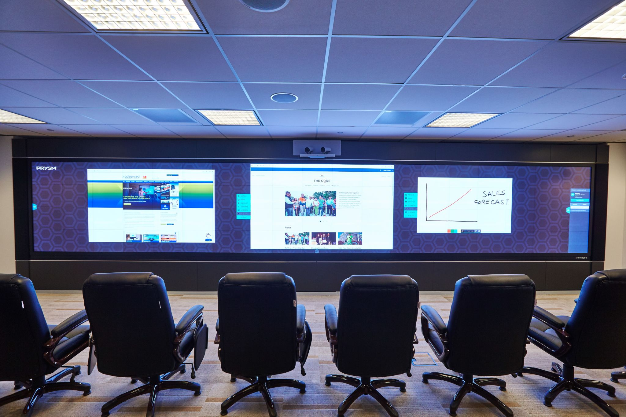 Barrick Strikes Gold With Video Wall Sign Media