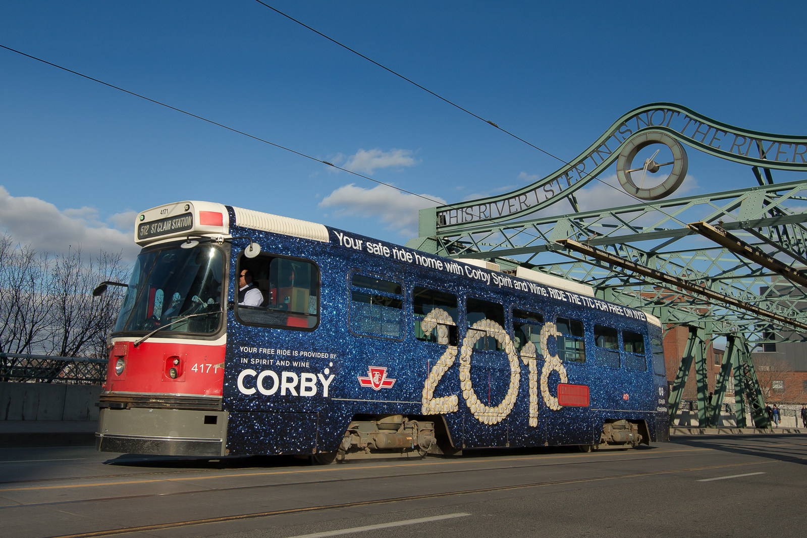 Corby Wraps Transit Vehicles For Free New Year S Rides