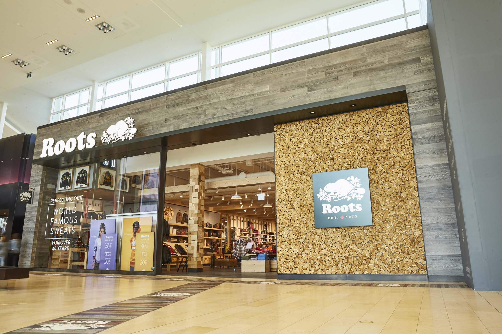 0e4546f9b80 Roots wins retail design award for new Yorkdale store - Sign Media