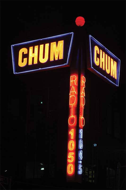 Colour matching in sign illumination was more widely understood in the days of neon.
