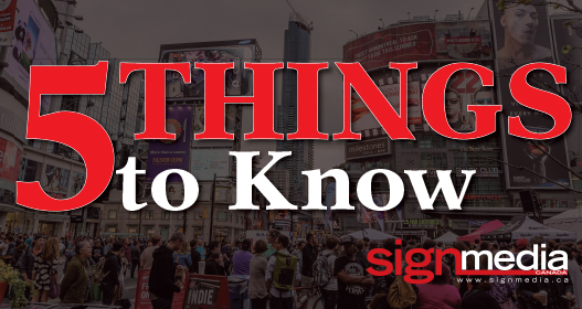 Your weekly round up of 5 things to know.