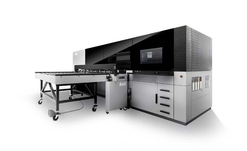 P5 250 HS printing platform