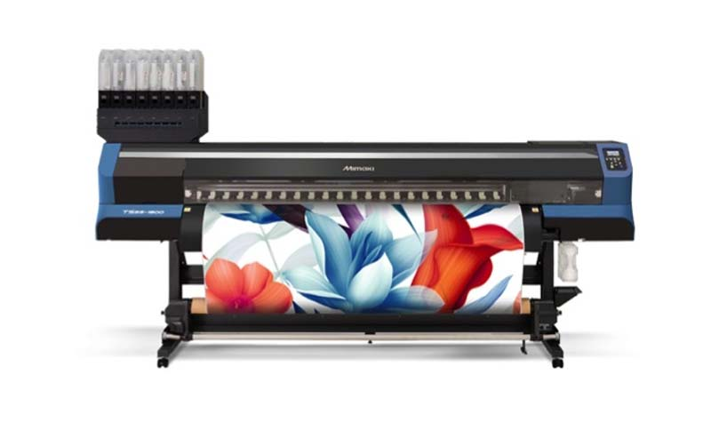 Mimaki USA has released the TS55-1800, a new dye-sublimation transfer inkjet printer.