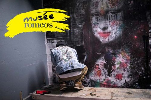 romeo's museum is the largest ever collaboration project of Montreal urban artists.