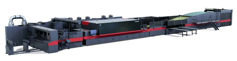 Packaging supply company Whitebird recently introduced the EFI Nozomi C18000, an ultra-high-speed inkjet press by Electronics For Imaging (EFI).