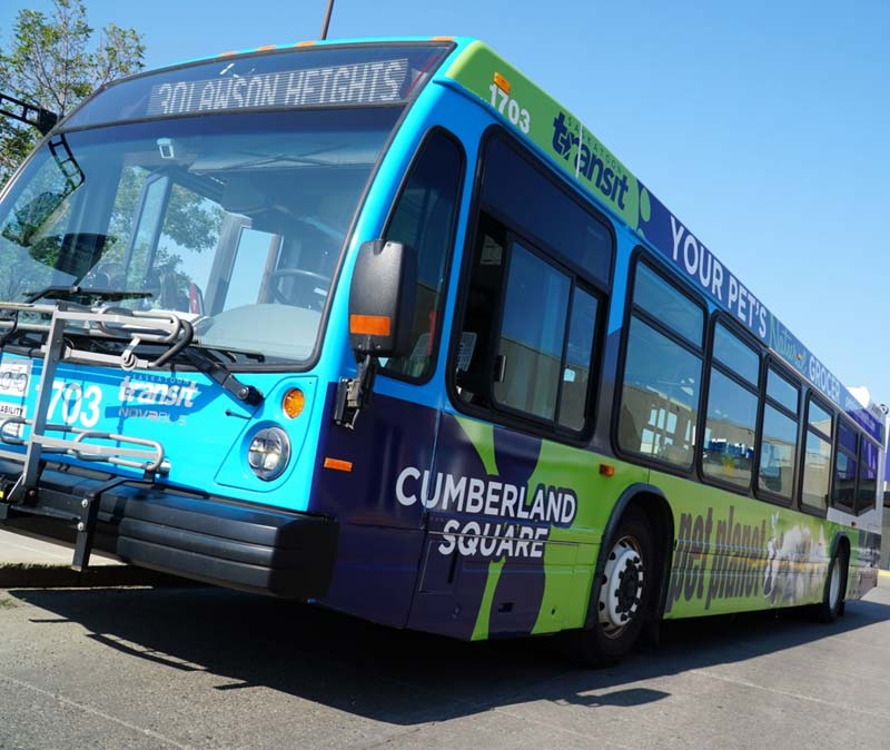 Pattison Outdoor has signed a five-year contract with Saskatoon Transit.