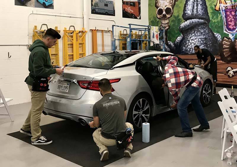 Registration is now open for Avery Dennison's 2019 wrap training workshops.