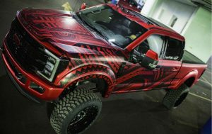 Canadian Wrap Masters' drawn-by-hand design impressed the judges.