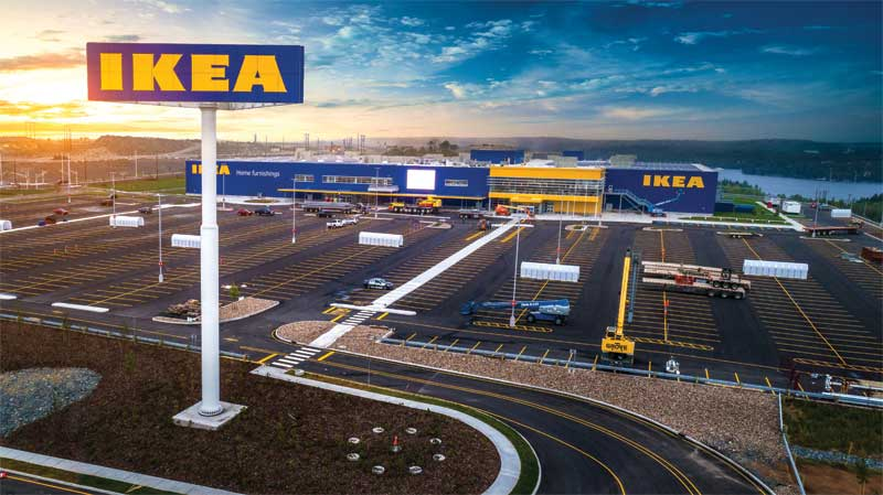To develop, fabricate, and install Ikea's landmark signs, it required substantial engineering, research, and planning.