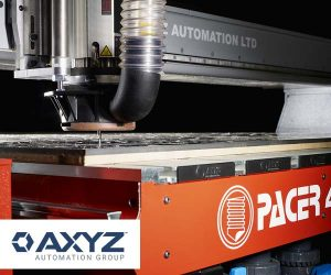 Axyz Automation Group is now the official name that represents all three of the manufacturer's brand identities—Axyz, WardJet, and www.cncroutershop.com.