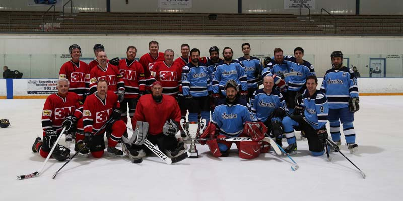 Osa Holds Successful Winter Classic Hockey Tournament Sign Media