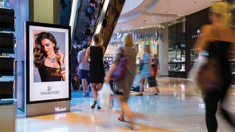One of the biggest advantages of digital signage is to deliver more relevant ads at the right place and time to the appropriate audience.