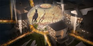 Christie is the official displays and projections partner for Expo 2020 Dubai.