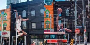 With the Toronto Raptors going to their first National Basketball Association (NBA) finals, owners the city is doing whatever it can to convince the team's star player Kawhi Leonard to stay—even using out-of-home (OOH) advertising.