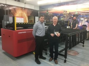 Ottawa-based sign and display market supplier Miller McConnell Signs has installed an Agfa Anapurna H2500i light-emitting diode (LED) printer.