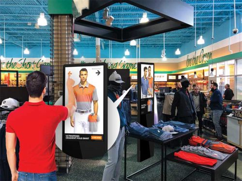 One of the biggest advantages of digital signage is to deliver more relevant ads at the right place and time to the appropriate audience