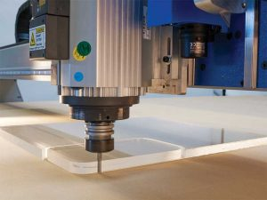 There is a substantial growth in router usage in the sign and graphics industry, which relies on automation software for converting a wide range of rigid and semi-rigid sheets of plastics, woods, and metals.