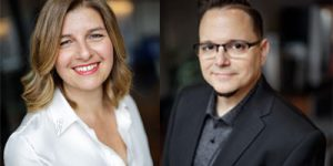 iGotcha Media introduces Marcos Terenzio (right) and Kim Zakaib (left)as the company's new divisional vice-presidents.